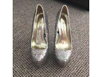Glitter /sparkle heels