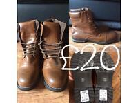 Men's Next Leather boots
