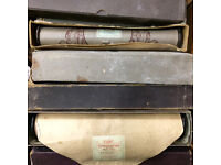 Selection of vintage Pianola player rolls.