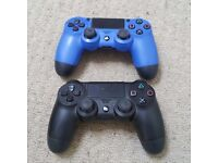 2 x PS4 controllers for Spares/Repairs