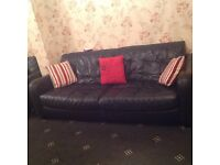 4 LEATHER SOFAS FOR SALE - BARGAIN!!!