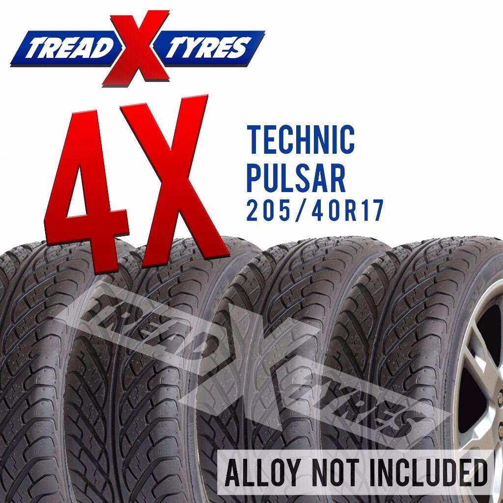 4 x New 205/40R17 Technic Pulsar Tyre - 205 40 17 - Fitting Available