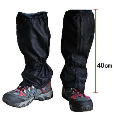 Sports & Entertainment 1 Pair Waterproof Leg Gaiters Boot Shoe Cover Walking Outdoor Legging Gators Hot Punctual Timing