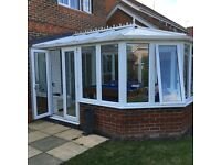 Victorian Style -White PVCU Conservatory 13' x 9.6
