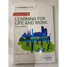 CCEA GCSE Learning for Life and Work revision book