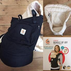 Ergobaby Original carrier with infant insert