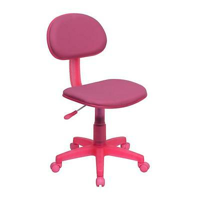 Flash Furniture Pink Fabric Swivel Task Chair