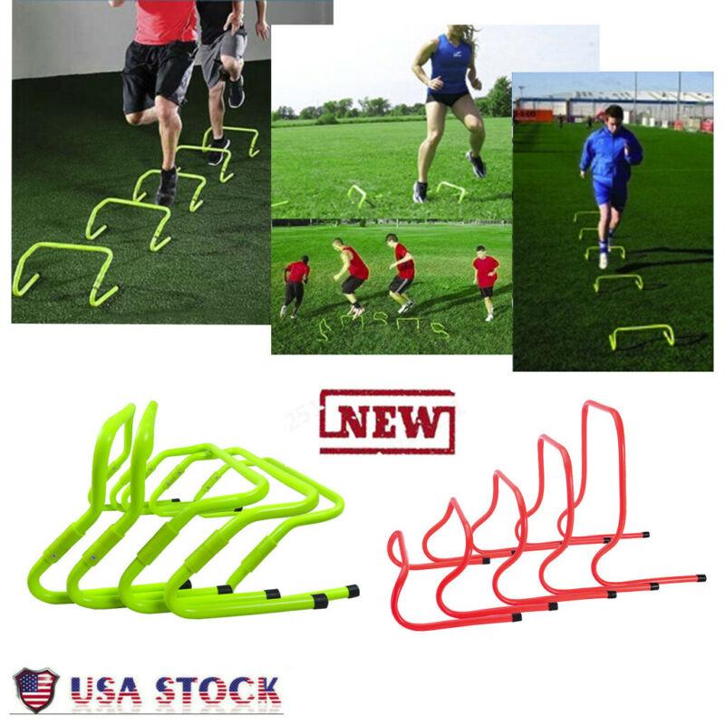 Fitness Adjustable Barrier Football Speed Training Hur