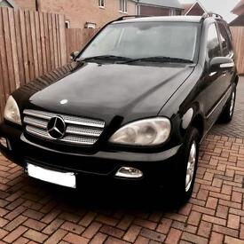 Mercedes ML 2.70 AUTO DIESEL INSPIRATION TV special addition