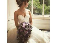 Wedding Dress - Size 10 - Ronald Joyce - Hanna