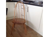 Ercol dining table and chairs