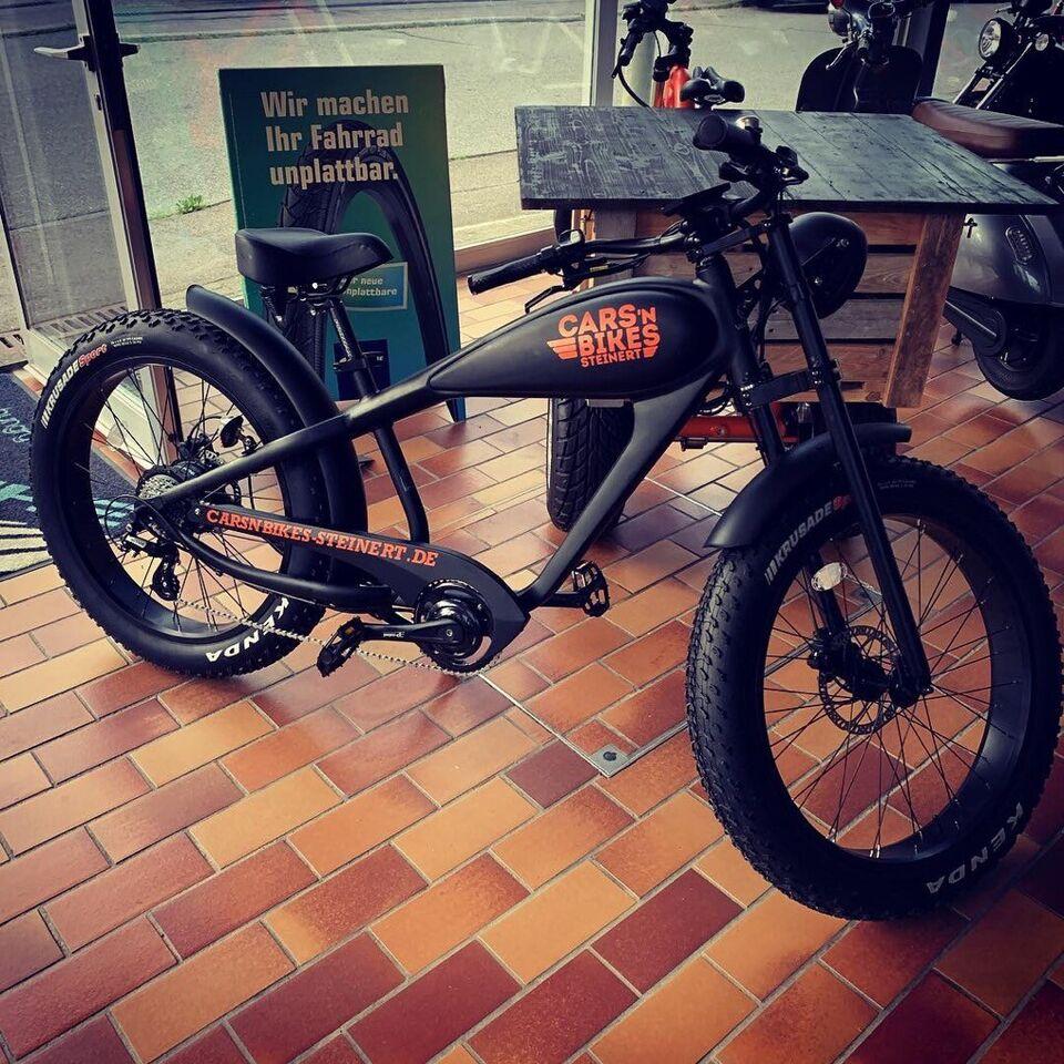 Varaneo Cafe Racer E-Bike Pedelec Cruiser im Harley Style in Rudersberg