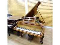 Broadwood Burr Walnut Baby Grand Piano By Sherwood Phoenix Pianos