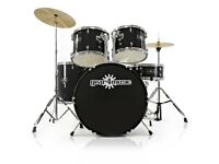 GD-2 Drum Kit by Gear4music Black - Full Size - Excellent condition