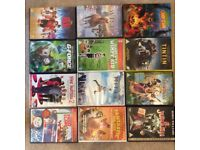 Selection of PG and U certificate DVD's. 24 in total