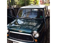 Rover Mini,Racing Green,V,low mileage Auto