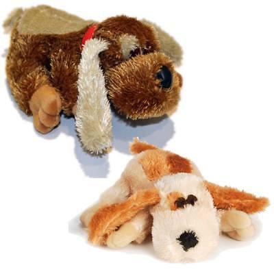 Hundespielzeug Hund Plueschi Plüschspielzeug mit Squeeker hell oder dunkel