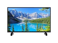 "Techwood 40AO7USB 40"" Smart TV with Freeview Play - Black - [A+ Rated]"