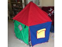 Baby Dan collapsable, gated Play Pen with play tent and mat