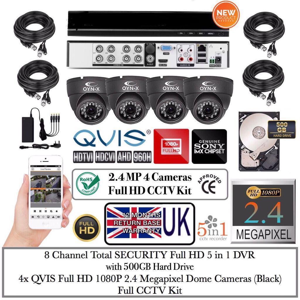 4 Camera 1080p FULL HD Kit