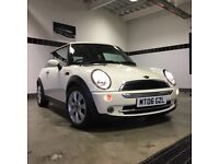 Mini One 1.6 Petrol 2006- Pepper White, EXCELLENT condition!!