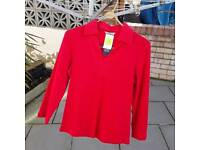 Ladies casual top size 12 M&S
