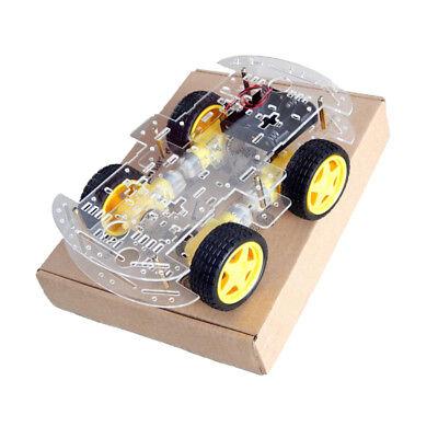 4-Rad Smart Auto Chassis DIY Kit Tracing Auto mit Geschwindigkeit Encoder Encoder Kit