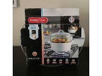 PYREX Pyroflam casserole dish & steamer