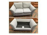 Quality grey 2 seater sofa