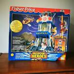 Fisher-Price Rescue Heroes Command Center Playset 1997 NIEUW