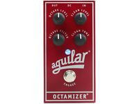 Aguilar Octamizer Analog Octave Bass Effects Pedal / like new!