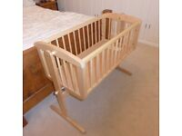 Mothercare Rocking baby crib in excellent condition £35