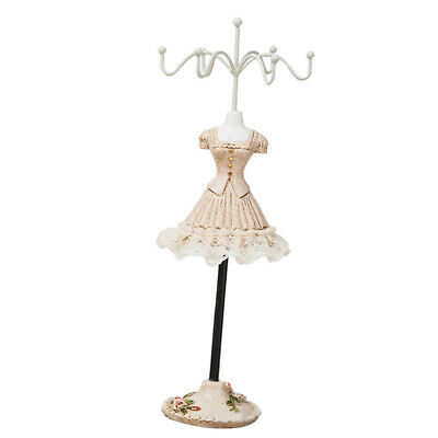 Metal Necklace Jewelry Rotating Earring Bracelet Display Stand Holder Rack-e