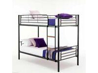 💥 Sale End Soon-Kids Bed💥 Single Metal Bunk Bed Frame W Optional Mattresses💥Order Now💥