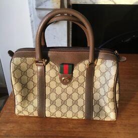 Vintage Gucci Hand Bag 1990s
