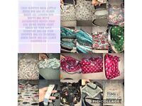 Assorted handbags and purses prices on pictures