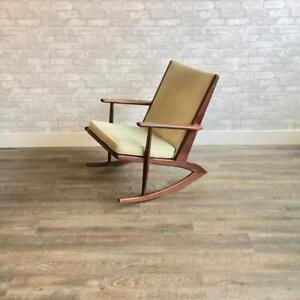 Mid Century Teak And Rosewood Armchairs
