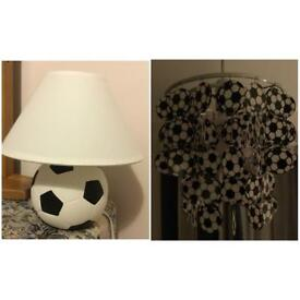 Football Table Lamp and Ceiling Light Shade