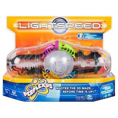 Perplexus Lightspeed 3D Maze Puzzle with Lights and sound STEM Brain teasers