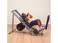Body-Solid Leg Press/Hack Squat Machine - used, but in very good condition