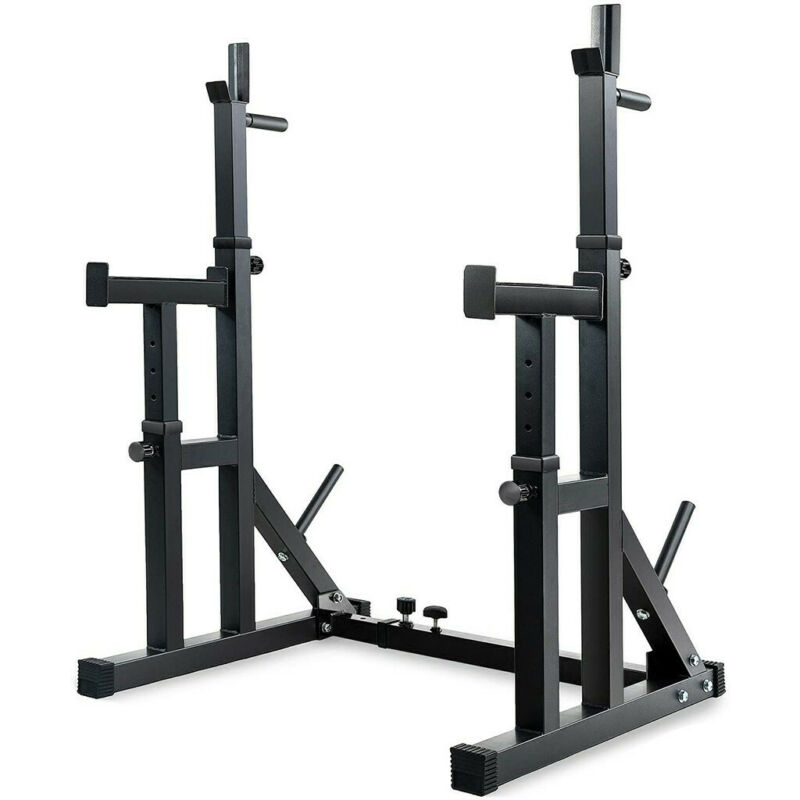 Multifunction Barbell Bench Press Dipping Station Adjustable