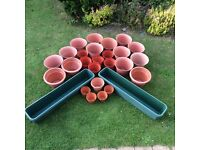 Garden Pots and troughs for sale