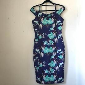 Quiz Stretch Body-con Dress (Size 14)