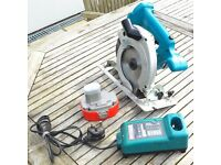 Makita 5621RD 18V Cordless Circular Saw + Charger + New Battery £65.00 ono