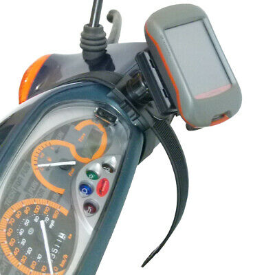 perfk 2X Moto Soporte De Manillar De Bicicleta para Garmin GPSMAP 62s 62sc Dakota 10