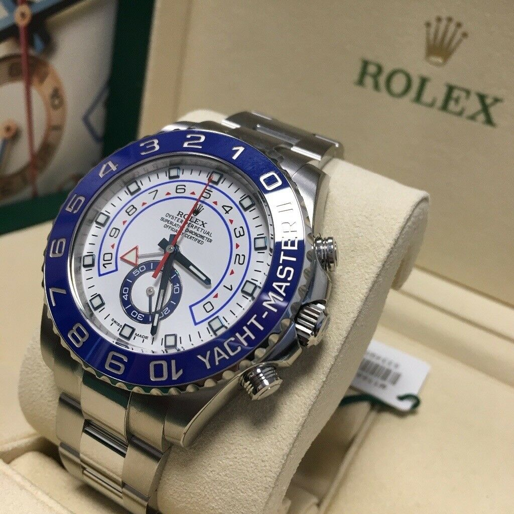 Rolex Yacht Master II 116680 44MM Stainless Steel Oyster Auto Watch *BRAND NEW*