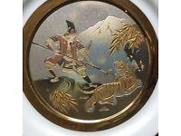 CHOKIN JAPANESE DECORATIVE PLATE