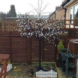 6ft lit blossom tree indoor / outdoor use