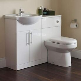 COMPLETE BATHROOM DESIGNER VANITY UNIT - only 195 - bargain