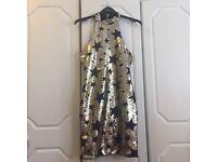 Gold sequin glamorous bodycon dress size 6/8